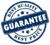Guarantee stamp Royalty Free Stock Photos