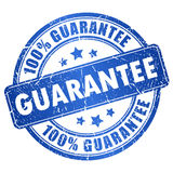 Guarantee stamp royalty free illustration