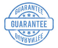 Guarantee Stamp Royalty Free Stock Photography