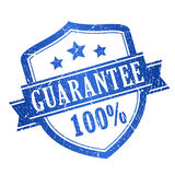 100 guarantee stamp Stock Photos