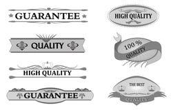 Guarantee sticker Stock Images
