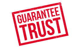 Guarantee Trust rubber stamp Royalty Free Stock Photography
