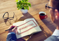 Guarantee Warranty Assurance Quality Graphic Concept Royalty Free Stock Photos