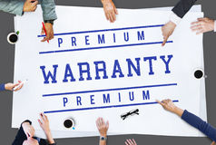 Guarantee Warranty Assurance Quality Graphic Concept Stock Image