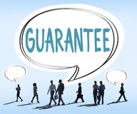Guarantee Warranty Satisfaction Benefits Customer Concept Royalty Free Stock Images