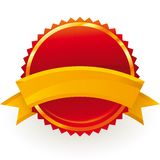 Guaranteed badge Stock Image