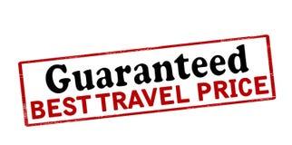 Guaranteed best travel price Stock Image