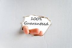 Guaranteed concept Stock Photo