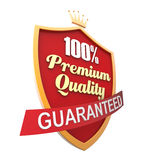 Guaranteed Label Stock Photo