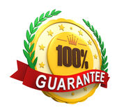 Guaranteed Label Royalty Free Stock Photos
