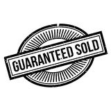 Guaranteed Sold rubber stamp Stock Photos