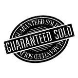 Guaranteed Sold rubber stamp Stock Images