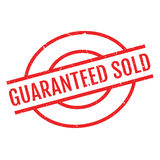 Guaranteed Sold rubber stamp Royalty Free Stock Image