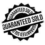 Guaranteed Sold rubber stamp Stock Photography