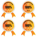 Guaranteed stickers Royalty Free Stock Image