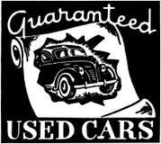 Guaranteed Used Cars Royalty Free Stock Photo