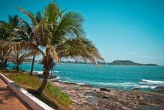 Guarapari - Brazil. Guarapari city on the brazilian coast Royalty Free Stock Photos