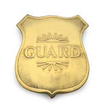 Guard Badge Royalty Free Stock Image