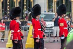 The Guard Buckingham London Stock Photo