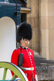 Guard at Castle Tower of London , UK. Stock Photo