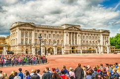 The guard ceremony at Buckingham Palace, London Stock Images