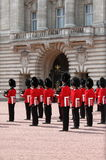 Guard change in Buckingham Palace Stock Photo