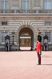 Guard change in Buckingham Palace Royalty Free Stock Images