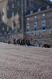 Guard Change, Stockholm Palace Royalty Free Stock Photos