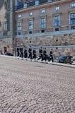 Guard Change, Stockholm Palace Stock Images