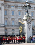Guard changing, Buckingham Palace, London, UK Royalty Free Stock Photography