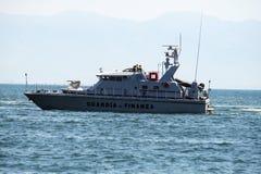 Guard coast Royalty Free Stock Photography