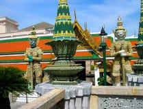 Guard Daemons - Royal Palace, Bangkok Stock Photo