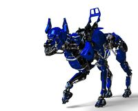Free Guard Dog Robot Security System The Blue One Stock Image - 124804171