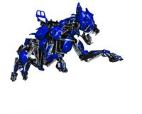 Free Guard Dog Robot Security System The Blue One Royalty Free Stock Photos - 124804188