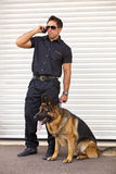 Guard dog Stock Images