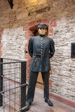 Guard figure in City Gaol. Cork, Republic of Ireland Royalty Free Stock Image