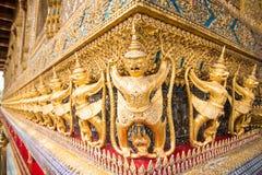 Guard of golden pagoda, Bangkok, Thailand Stock Photography