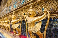 Guard of golden pagoda, Bangkok, Thailand Royalty Free Stock Photo