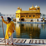 Guard of the golden temple Royalty Free Stock Photography