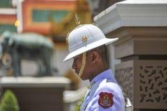 Guard at the Grand Palace in Bangkok, Thailand Stock Image