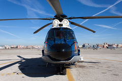 Guard Helicopter Royalty Free Stock Photography