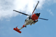 Guard Helicopter Stock Images
