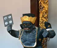 Guard of Hell. Figurine at Thian Hock Keng Temple in Singapore stock photos