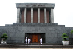 Guard of honor and mausoleum Stock Photo