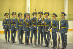 Guard of honor Royalty Free Stock Photo