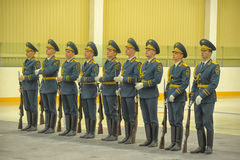 Guard of honor Stock Image