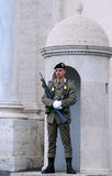 Guard of Honor in Rome Royalty Free Stock Photo