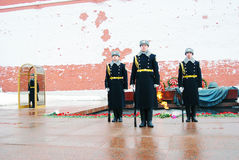 Guard of honour change Royalty Free Stock Photography