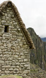 Guard house in Machu Picchu Peru Royalty Free Stock Images