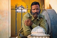 Guard, India, Travel, Portrait Stock Photos